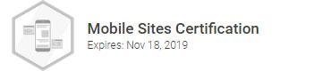 Julian F. Christmas er certificeret i Google Mobile Sites