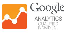 Rie Larsen er certificeret i Google Analytics