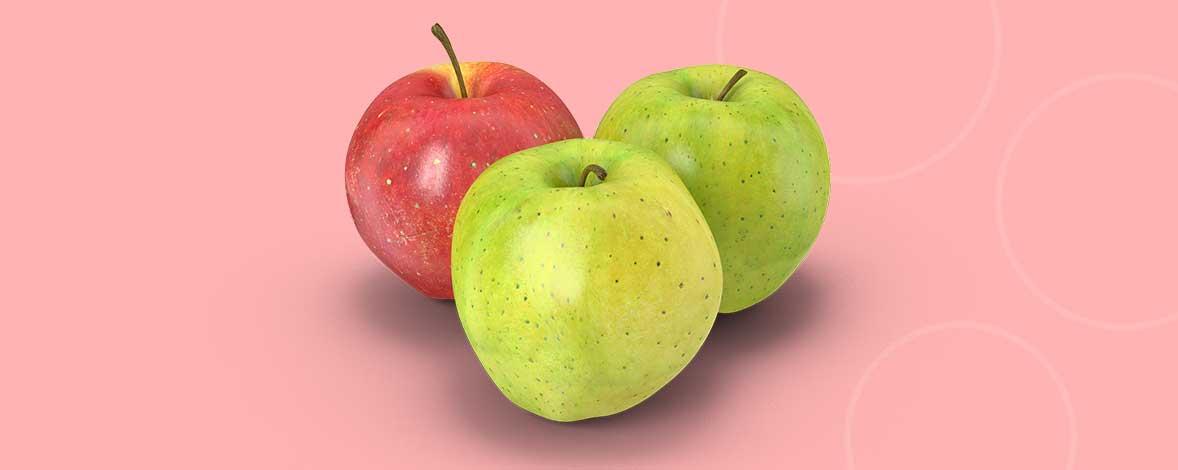 Den menneskelige hjerne kategorisere hurtigt de to grønne æbler sammen og ser det røde som et forstyrrende element